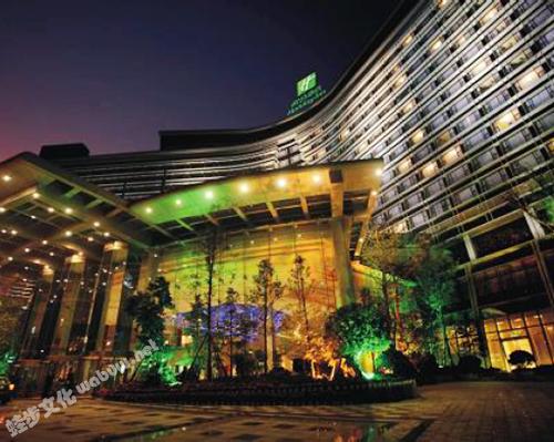 成都世纪城天堂洲际大饭店-外观